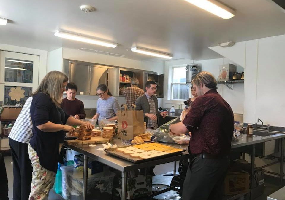 Bagged Lunches for SF Night Ministry, March 10, 2019