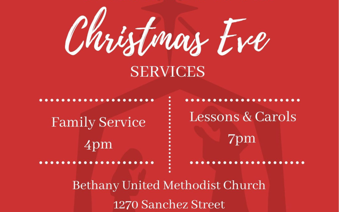 Christmas Eve Services at Bethany