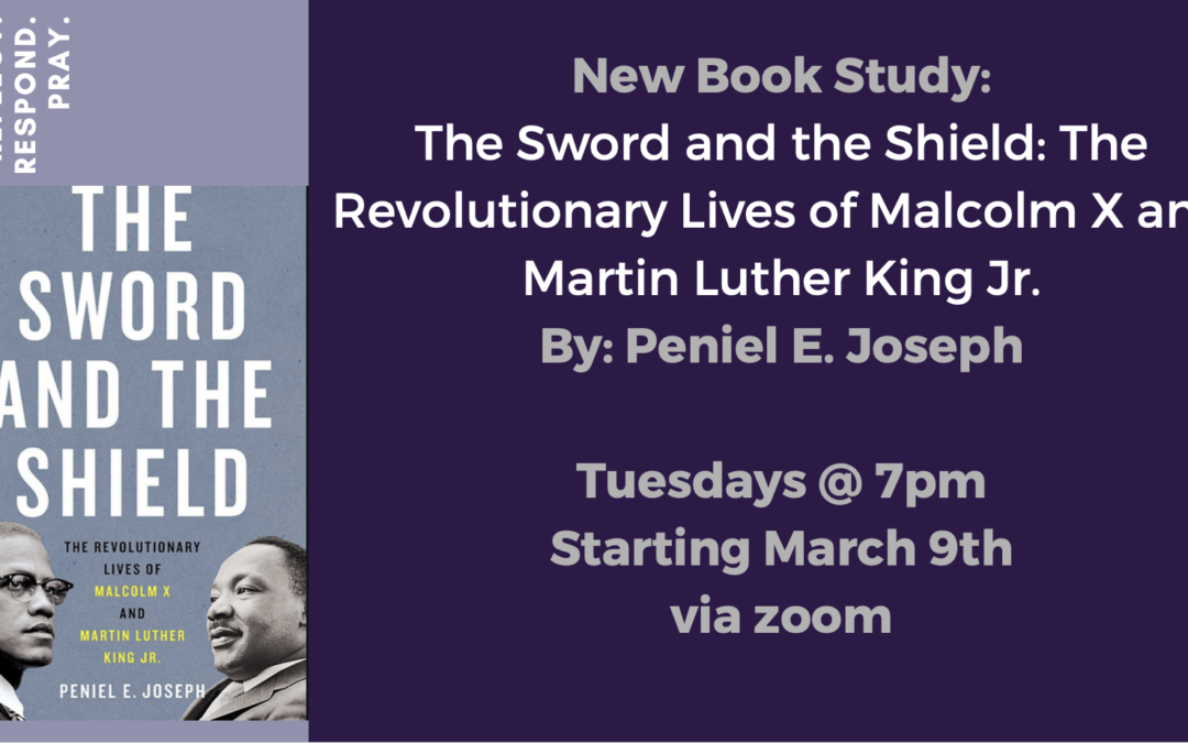 New Online Book Study – starting March 9, Tuesdays at 7 pm