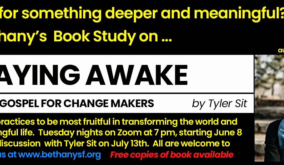 Online Book Study — Tuesdays at 7pm, starting June 8th